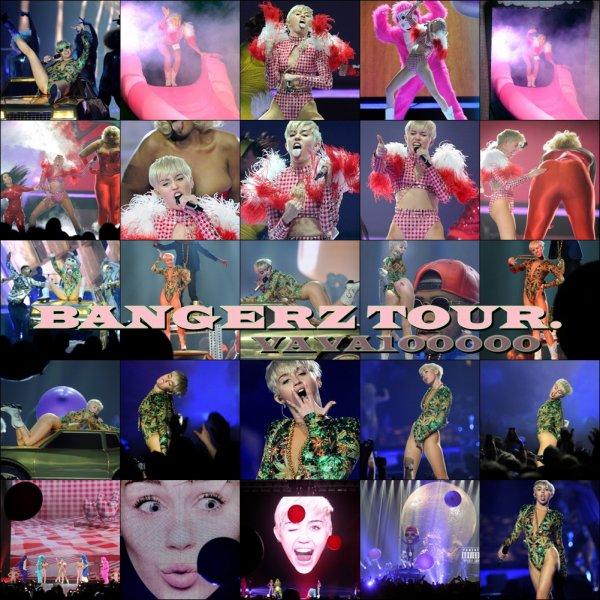 Bangerz Tour, MGM Grand Garden Arena, Las Vegas, NV - 01/03/14