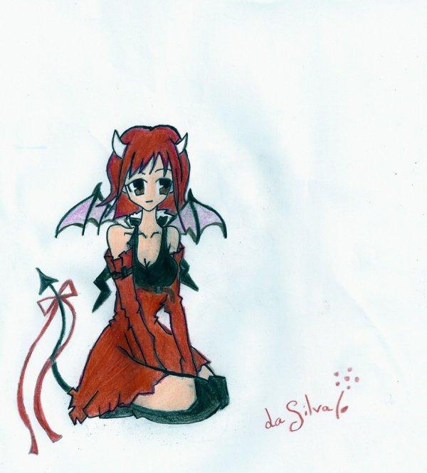 Petit diable le coin des dessins - Coloriage de diable ...