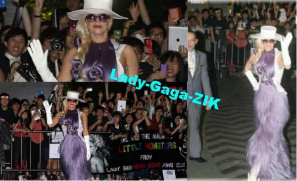 28 Avril - Lady Gaga a Hong Kong