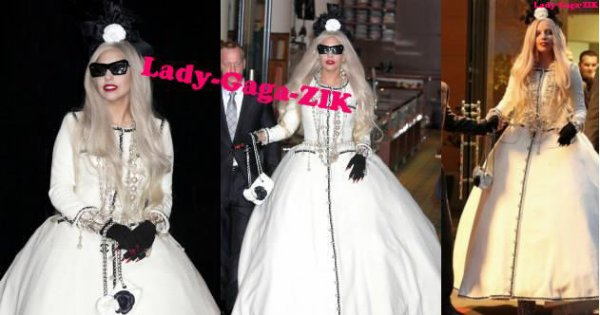 Lady Gaga Robe Chanel