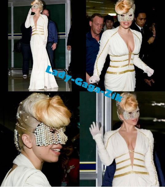 Lady Gaga En Corée avant son concert du 27 Avril 2012