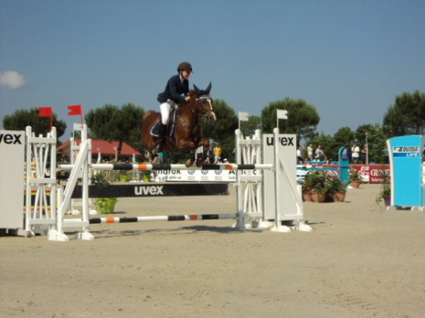 Lamotte 2013 : CSO As poney 1, épreuve n°1