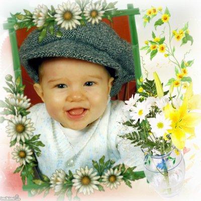 mon christopher à 8 mois
