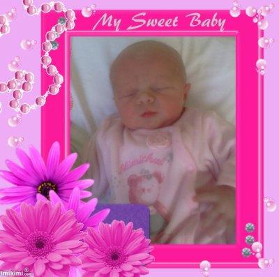 voici notre dernier petit trésor : notre fille cherry-lee