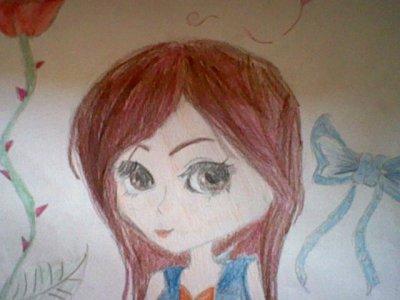 Un dessin pour cet fille génial
