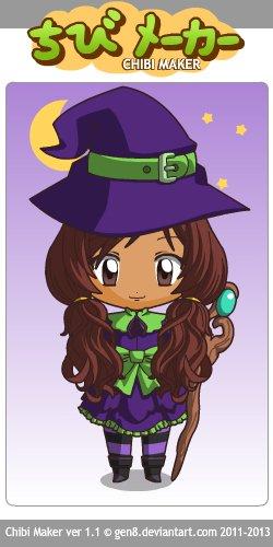 Chibi halloween (moi)