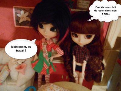 Les décorations de Noël ( part 2 )