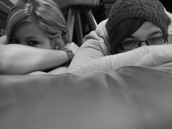 ma soeur de coeur et moi <3
