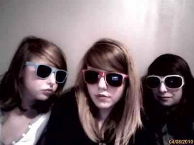 Charlotte, Anais (mi hermana ) y Yo .