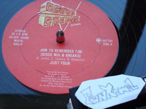"JUST FOUR ""jam to remember"" ...MAXI ....OLD SCHOOL TERRIBLE!!!!!"