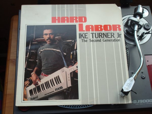 "‌IKE TURNER Jr "" hard labor "" LP .....TERRIBLE!!!!"