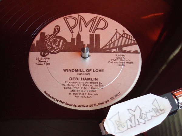 "‌DEBI HAMLIN  ""windmill of love"" 12"" . US...EXCELLENT!"