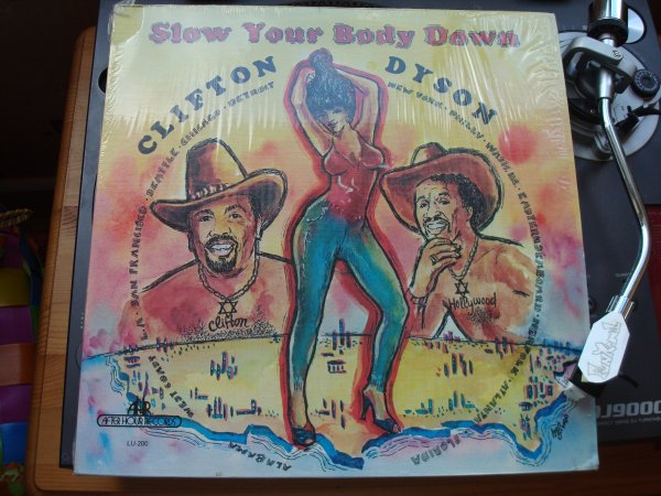 "‌CLIFTON DYSON ""slow your body down""  LP US Original .....TERRIBLE!"