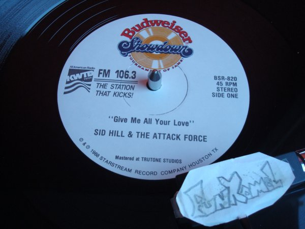 "SID HILL & THE ATTACK FORCE ""give me all your love"" /  DIANE GOODSON ""i am your destiny""  12"" US....SUPER TRACK!"