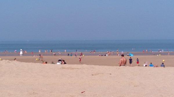 La belle plage de OStende