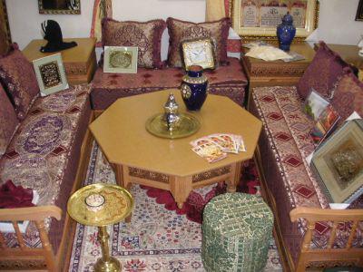 petit salon marocain - Agadir V.I.P