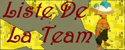 Liste de la Stream Team