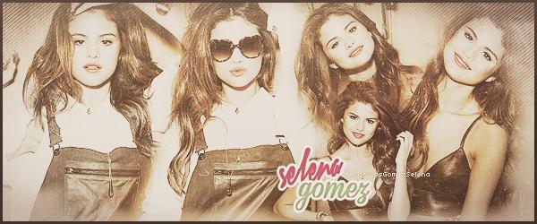 ● ● Bienvenue sur ta source d'actualité sur la magnifique américaine Selena Gomez. A travers des candids,photoshoots,apparitions et autres, découvrez et suivez toute l'actualité au jour le jour de la chanteuse Selena.