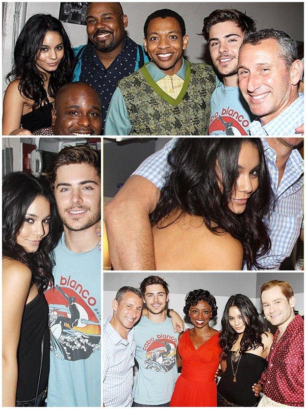 """♦ RUBRIQUE : EVENTS ♥ 17/08/2010 Vanessa et Zac ont assistés à une représentation de la pièce """"Memphis"""""""