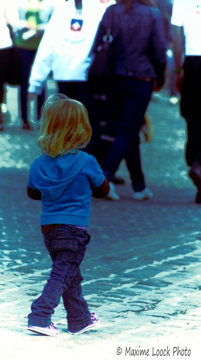 La petite fille
