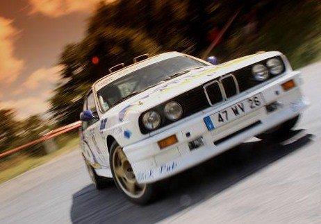 La M3 en rallye