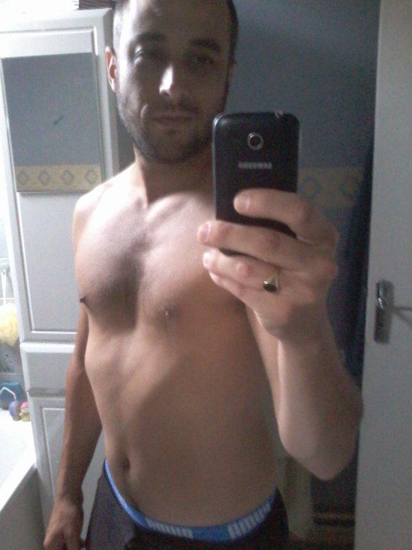 Avant la douche