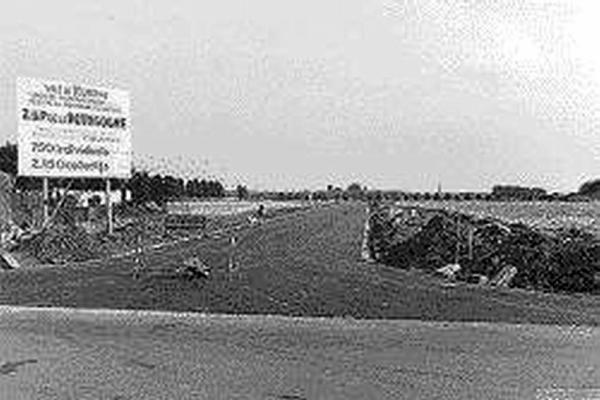 la zup  de la  bourgogne en construction en 1962