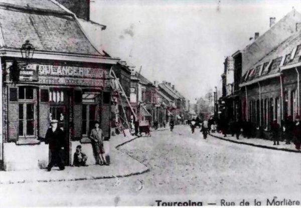 rue de la marliére a tourcoing