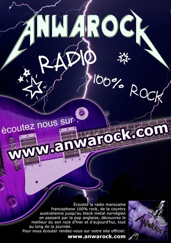Anwarock la webradio marocaine rock metal vous fait gagner un DVD!