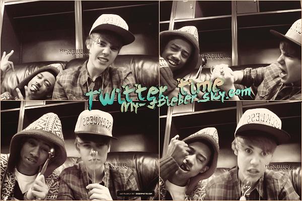 Quelques photos twitter + Encore des candids de Justin et Selena.