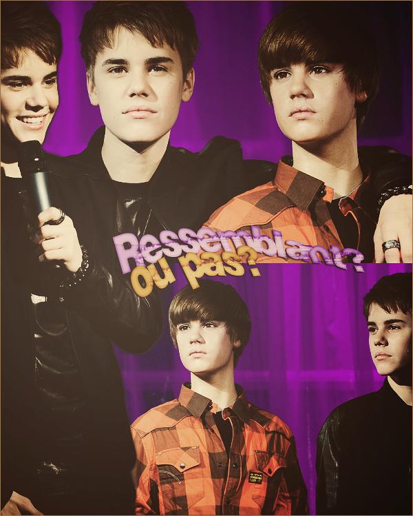 Wax Figure - Justin Bieber.