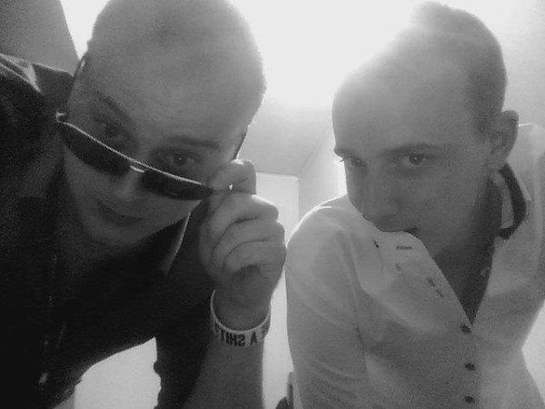 le frangin et moi :)