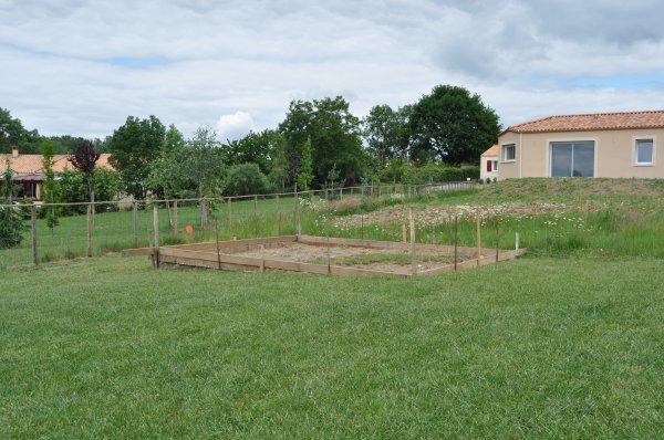 création d'une cabane de jardin