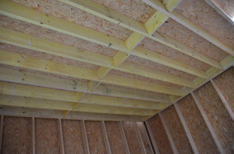 réalisation du toit