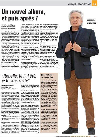 28 août 2010 - Article paru dans LA DERNIERE HEURE (presse belge)