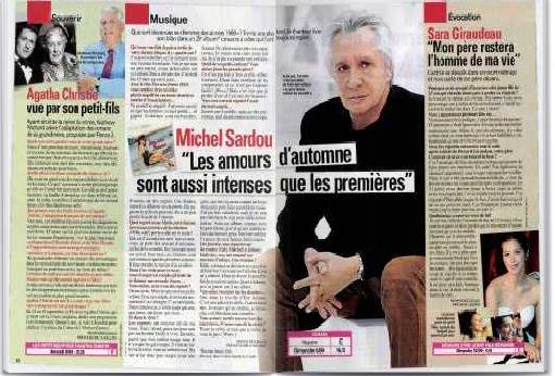 31 août 2010 - Article paru dans TV GRANDES CHAINES