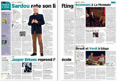31 août 2010 - Article paru dans L'AVENIR (presse belge)
