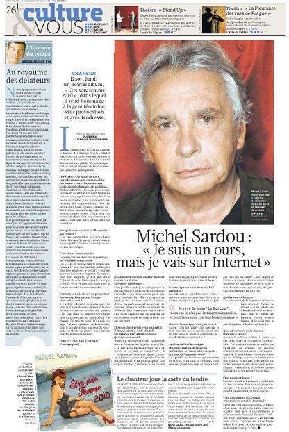 28 août 2010 - Article paru dans LE FIGARO