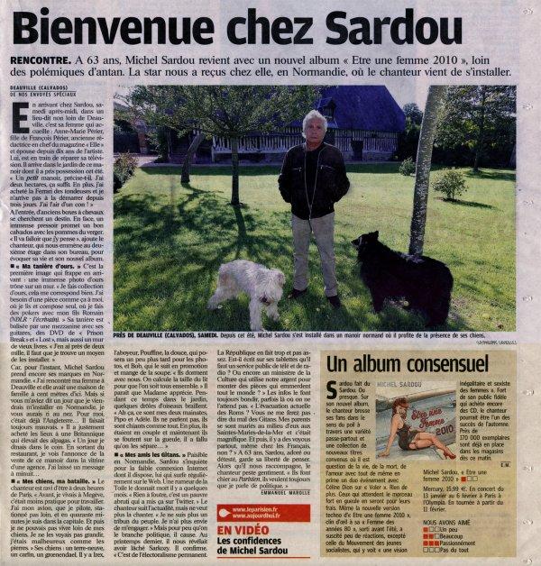 30 août 2009 - Article paru dans LE PARISIEN