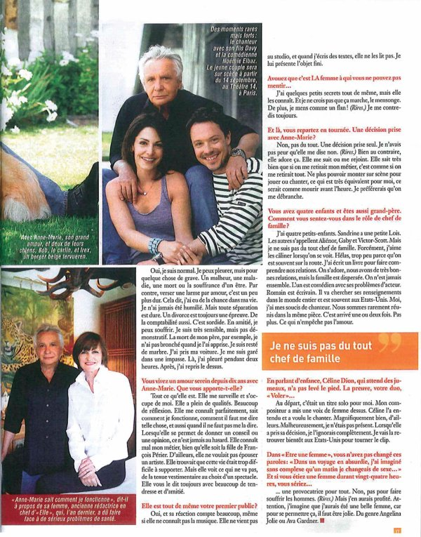 2 septembre 2010 - Article paru dans CINE TELE REVUE (presse belge)