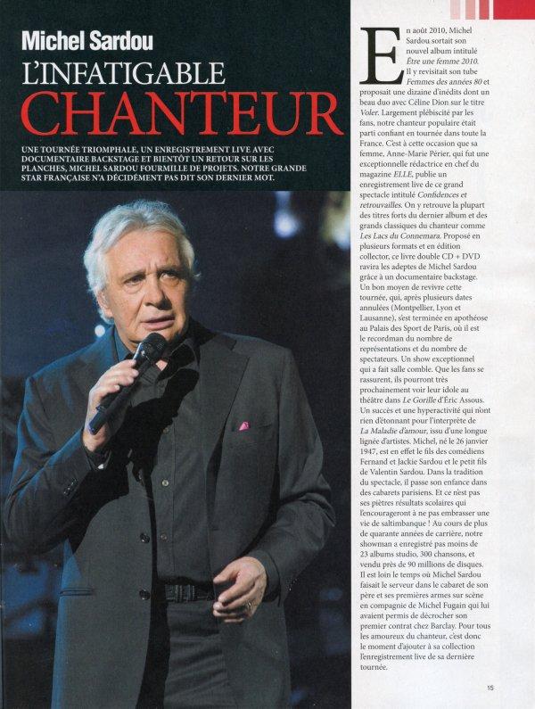 Juin 2011 - Article paru dans JOUR DE FRANCE