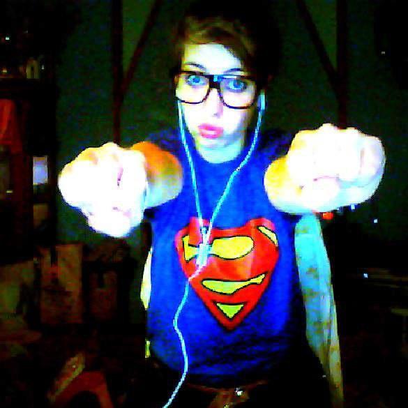 I'm a SuperGirl ♥♥'.