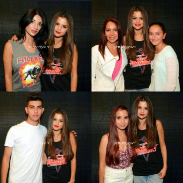 Selena Gomez vancouver with fans