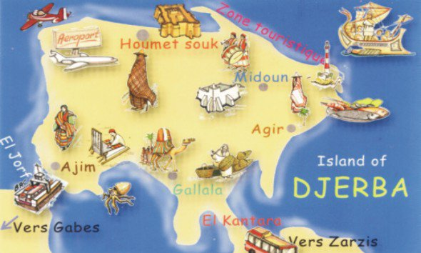 l'ile  des  Rèves .D'jerba -tunisia