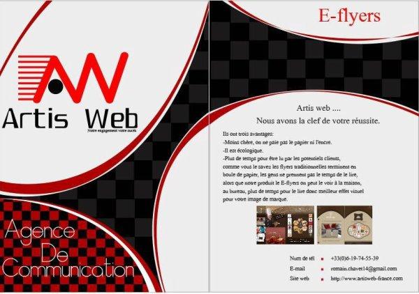E-flyers ArtisWeb