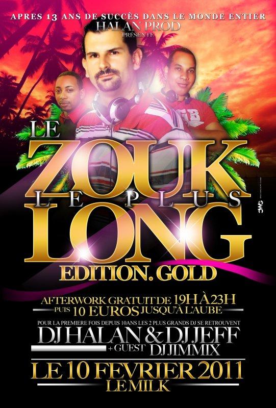 LE ZOUK LE PLUS LONG DE MARTINIQUE: SUR 2 JOURS LES 10 ET 11 FÉVRIER 2011