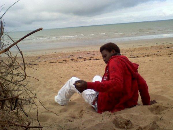 moi a la plage de vandee