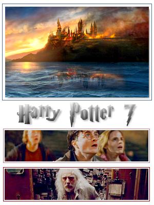 Harry Potter and The Deathly Hallows photos de la créa