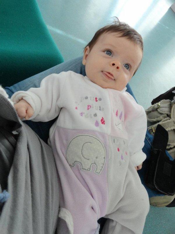 Ma petite nièce Lydie