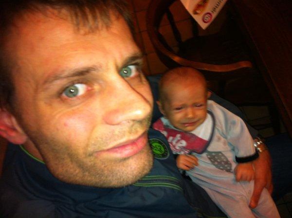 Trop beau père et fils